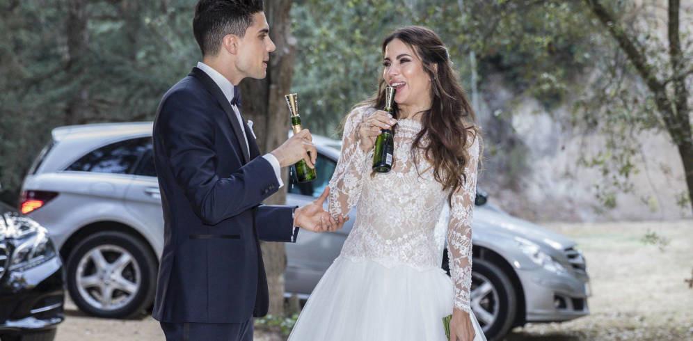 Así ha comenzado la cumpleañera luna de miel de Marc Bartra y Melissa Jiménez